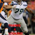 GARRY GILLIAM 2014 SEATTLE SEAHAWKS FOOTBALL CARD