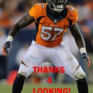 LAMIN BARROW 2014 DENVER BRONCOS FOOTBALL CARD