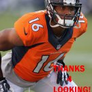 BENNIE FOWLER 2014 DENVER BRONCOS FOOTBALL CARD