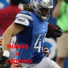 JED COLLINS 2014 DETROIT LIONS FOOTBALL CARD