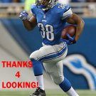 GEORGE WINN 2014 DETROIT LIONS FOOTBALL CARD