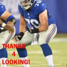 WESTON RICHBURG 2014 NEW YORK GIANTS FOOTBALL CARD