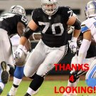 TONY BERGSTROM 2014 OAKLAND RAIDERS FOOTBALL CARD