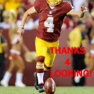 ZACH HOCKER 2014 WASHINGTON REDSKINS FOOTBALL CARD
