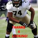 TAVON ROOKS 2014 NEW ORLEANS SAINTS FOOTBALL CARD