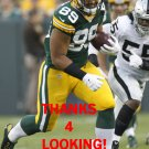 RICHARD RODGERS 2014 GREEN BAY PACKERS FOOTBALL CARD