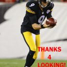 BRAD WING 2014 PITTSBURGH STEELERS FOOTBALL CARD