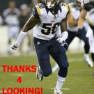 RAY RAY ARMSTRONG 2014 ST. LOUIS RAMS FOOTBALL CARD