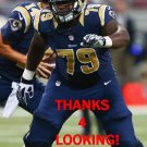 GREG ROBINSON 2014 ST. LOUIS RAMS FOOTBALL CARD