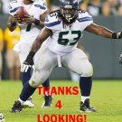RISHAW JOHNSON 2012 SEATTLE SEAHAWKS FOOTBALL CARD