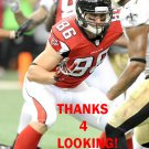 BEAR PASCOE 2014 ATLANTA FALCONS FOOTBALL CARD