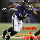 JOHN URSCHEL 2014 BALTIMORE RAVENS FOOTBALL CARD