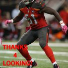 DANNY LANSANAH 2014 TAMPA BAY BUCCANEERS FOOTBALL CARD
