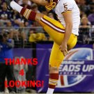 TRESS WAY 2014 WASHINGTON REDSKINS FOOTBALL CARD
