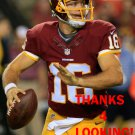 COLT McCOY 2014 WASHINGTON REDSKINS FOOTBALL CARD
