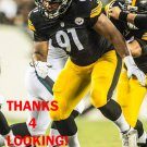 STEPHON TUITT 2014 PITTSBURGH STEELERS FOOTBALL CARD
