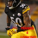 RYAN SHAZIER 2014 PITTSBURGH STEELERS FOOTBALL CARD