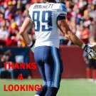 BRETT BRACKETT 2014 TENNESSEE TITANS FOOTBALL CARD