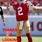 BLAINE GABBERT 2014 SAN FRANCISCO 49ERS FOOTBALL CARD
