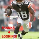TAYLOR GABRIEL 2014 CLEVELAND BROWNS FOOTBALL CARD