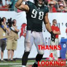CONNOR BARWIN 2014 PHILADELPHIA EAGLES FOOTBALL CARD