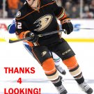 JOSH MANSON 2014-15 ANAHEIM DUCKS HOCKEY CARD