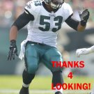 NAJEE GOODE 2014 PHILADELPHIA EAGLES FOOTBALL CARD
