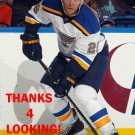 PAUL STASTNY 2014-15 ST. LOUIS BLUES HOCKEY CARD