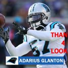 ADARIUS GLANTON 2014 CAROLINA PANTHERS FOOTBALL CARD