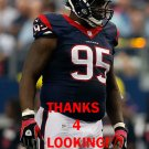 JERRELL POWE 2014 HOUSTON TEXANS FOOTBALL CARD
