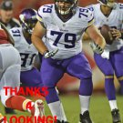 AUSTIN WENTWORTH 2014 MINNESOTA VIKINGS FOOTBALL CARD