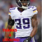 JABARI PRICE 2014 MINNESOTA VIKINGS FOOTBALL CARD