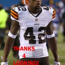 ROBERT NELSON 2014 CLEVELAND BROWNS FOOTBALL CARD