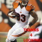 KEVIN BROCK 2014 CINCINNATI BENGALS FOOTBALL CARD