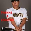 JUNG-HO KANG 2015 PITTSBURGH PIRATES BASEBALL CARD