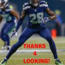 PHILLIP ADAMS 2014 SEATTLE SEAHAWKS FOOTBALL CARD