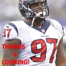 JEOFFREY PAGAN 2014 HOUSTON TEXANS FOOTBALL CARD