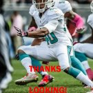 LOWELL ROSE 2014 MIAMI DOLPHINS FOOTBALL CARD