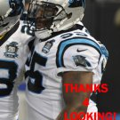 DENICOS ALLEN 2014 CAROLINA PANTHERS FOOTBALL CARD