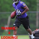 JERRY RICE JR. 2014 BALTIMORE RAVENS FOOTBALL CARD