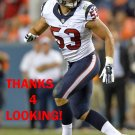 MAX BULLOUGH 2014 HOUSTON TEXANS FOOTBALL CARD