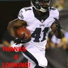 KENJON BARNER 2014 PHILADELPHIA EAGLES FOOTBALL CARD
