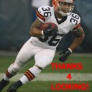 JAMAINE COOK 2013 CLEVELAND BROWNS FOOTBALL CARD