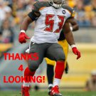 BRANDON MAGEE 2014 TAMPA BAY BUCCANEERS FOOTBALL CARD
