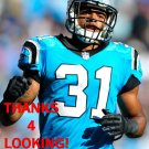 JAMES DOCKERY 2014 CAROLINA PANTHERS FOOTBALL CARD