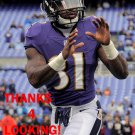 TERRENCE BROOKS 2014 BALTIMORE RAVENS FOOTBALL CARD