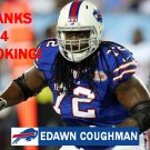 EDAWN COUGHMAN 2014 BUFFALO BILLS FOOTBALL CARD