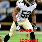 JONATHAN CASILLAS 2013 NEW ORLEANS SAINTS FOOTBALL CARD