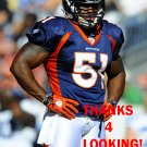 JOE MAYS 2012 DENVER BRONCOS FOOTBALL CARD