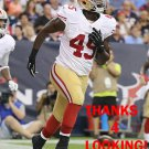 ASANTE CLEVELAND 2014 SAN FRANCISCO 49ERS FOOTBALL CARD